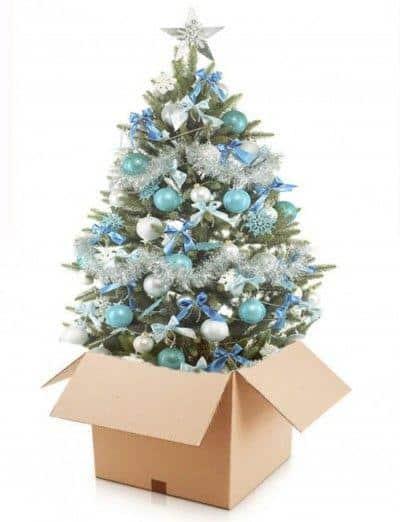 Mudanzas en Navidad
