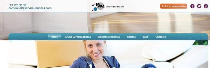 nueva web ServiMudanzas